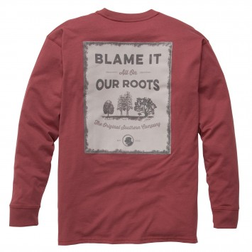 Our Roots: Rust Red Long Sleeve